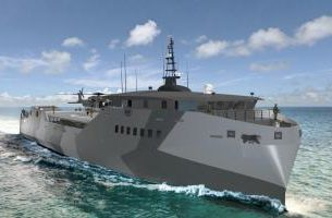 New Navy Amphibious Warship
