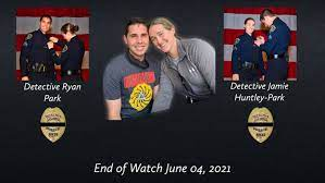 Ryan Park and Jamie Huntley Park San Diego Police Detectices EOW June 4 2021